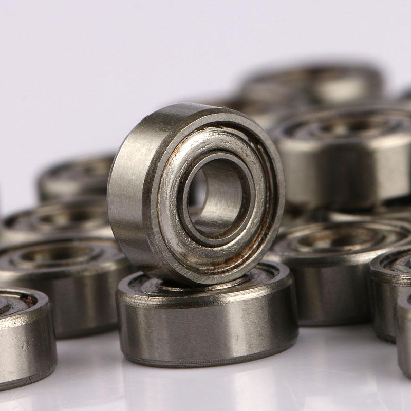 Ball Bearings SMR84ZZ 4x8x3mm 4pcs Stainless Steel Deep Groove Bearings